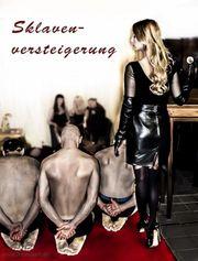 Sklavenschau Mit Vorführung und Versteigerung