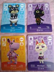 Animal Crossing amiibo Karten Set