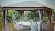 Pavillon Dach Plane 3x4 Premium