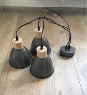 Neu Metall- Hängeleuchte Lampe