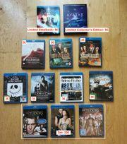 Verschiedene DVDs Blu-Rays Serien und