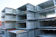 NEU 192m² Gerüst PL70 Fassadengerüst