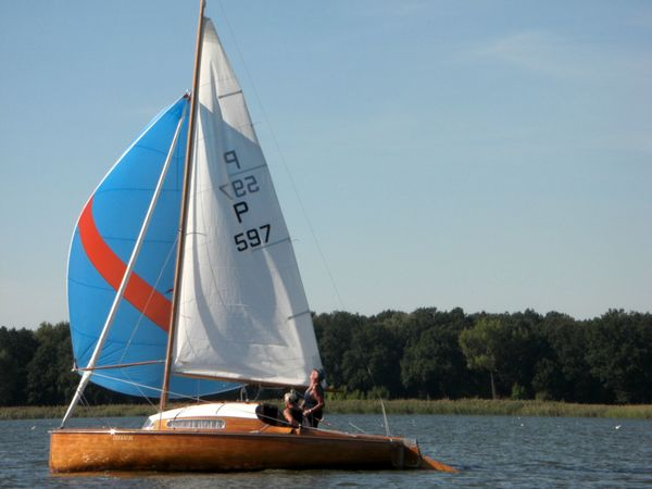 Segelboot 15 er Jollenkreuzer Liebhaberstück Regatta