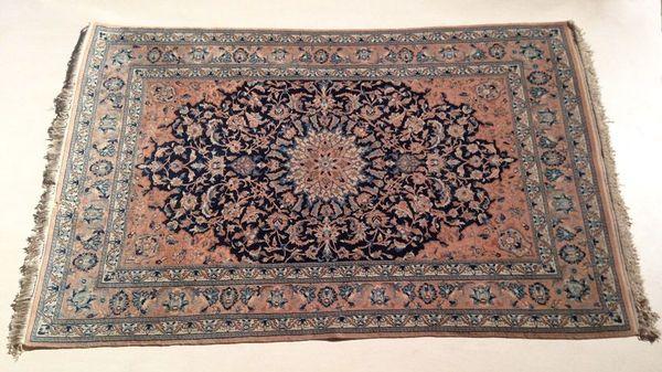 Nain Teppich 120x180cm aus 70er