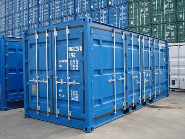 Duisburg Leipzig 20 FSA Seecontainer