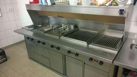Gastronomie, Ladeneinrichtung - HAKA Küchenzeile für Großküchen