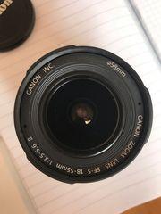 Canon Objektiv EFS 18-55mm