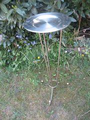 Edelstahl Blumen-Schale Duft-Schale Blumen-Ständer mit