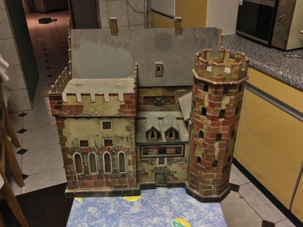 Modell einer Burg