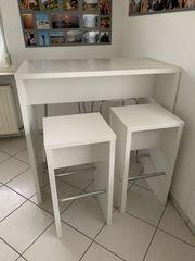 Bistro-Tisch mit 4 Stühlen