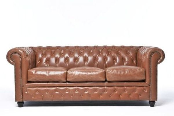 Chesterfield Sofa Vintage Mokka