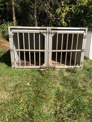 Doppelbox für Hunde