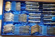 Antikes Silberbesteck Silvosia 100 für