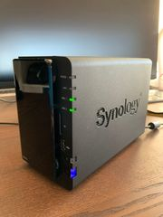Synology DS212 NAS inkl HDDs