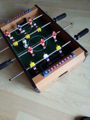 Mini Kicker Tischfußball 51x31x10cm helles