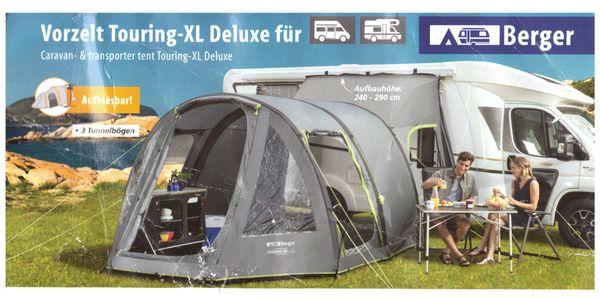 Berger Touring-XL Reisemobil- Kastenwagen Vorzelt