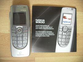 Nokia Handy - Nokia 9300 silber