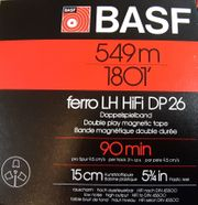 Original BASF Tonband