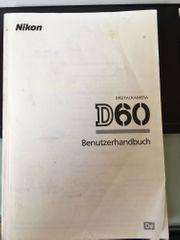 Nikon D60 Benutzerhandbuch