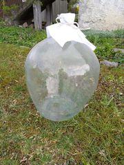 Glasballonflasche zu verkaufen