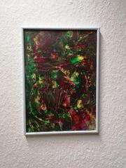 Unikat Acryl hinter Glas Neon
