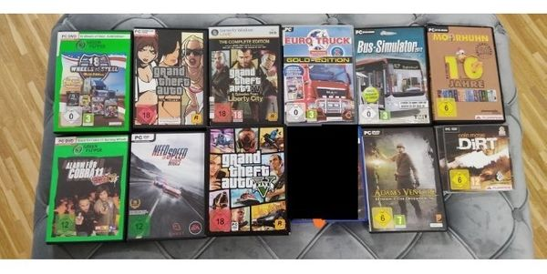 Spiele Sammlung für PC GTA
