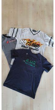 3 T-Shirts gr 152