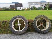 2 x Traktor Zusatzräder