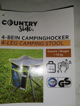 Campingartikel - Camping hocker neu Stabil