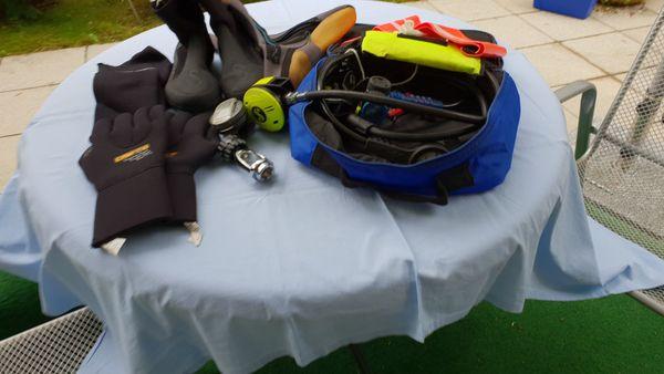 Tauchequipment Tauchen Tauchausrüstung
