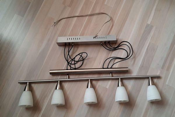 Esszimmerlampe - 5 Leuchten - Höhe verstellbar
