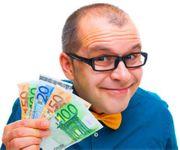 Geldangebot und Kreditkarte in 24