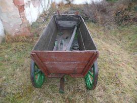 Alter Bollerwagen - statt 199 00: Kleinanzeigen aus Wendelstein - Rubrik Sonstiges für den Garten, Balkon, Terrasse