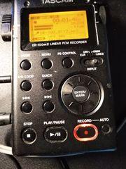 Portabler Digitalrecorder Tascam DR 100