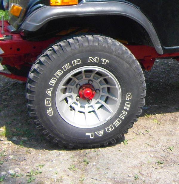 Jeep Komplett Räder 10 5