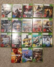 Diverse Spiele 18x für X-BOX
