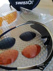 SWISS Eye Sport-Sonnenbrille mit Zubehör