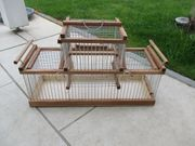 1 x Doppel-Vogelfalle Vogelkäfig Lebendfalle