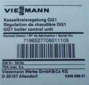 Viessmann Kesselkreisregelung GG1 NEU