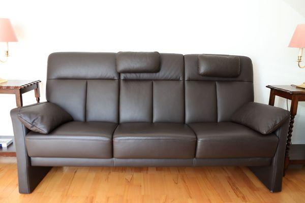 3sitzer Sofa plus Sessel mit