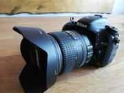 Absolut neuwertige Vollformatkamera Nikon D