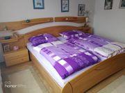 Doppelbett mit Überbau usw neuwertig
