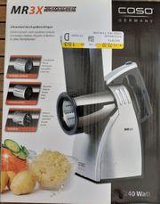 Küchenmaschine MR3X Caso Schneden Reiben