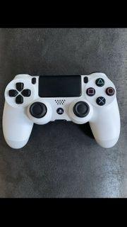 Sony PlayStation 4 Controller weiß