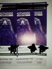 3x Southside Ticket mit Camping