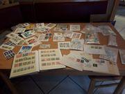 Briefmarken DDR Sammlung aus Dachbodenfund