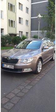 skoda superb 2 TDI Navi