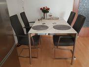 Esstisch mit Keramikplatte 130 cm