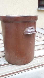Steingut Gefäss 25 Liter