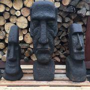 Garten Figur aus Beton Moai